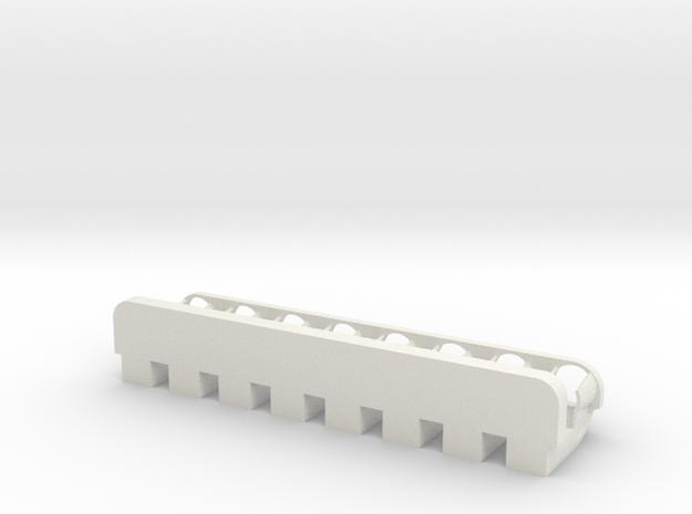 8 Tube Magnetic Rack 3d printed