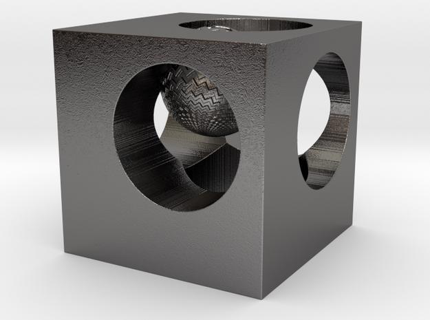 NiCube 3d printed
