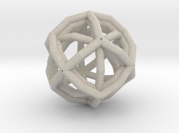 Rhombicage-r2-s12-o2-n2-dTrue-x0 3d printed