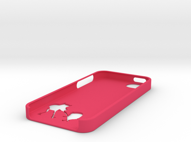 Adventure Time Inspired iPhone 5 case 3d printed