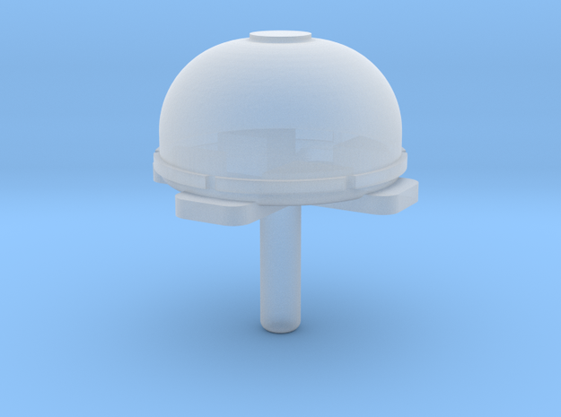 Satellitenantenne (8mm X 4,6mm Kuppelgröße) 1Stck in Smooth Fine Detail Plastic