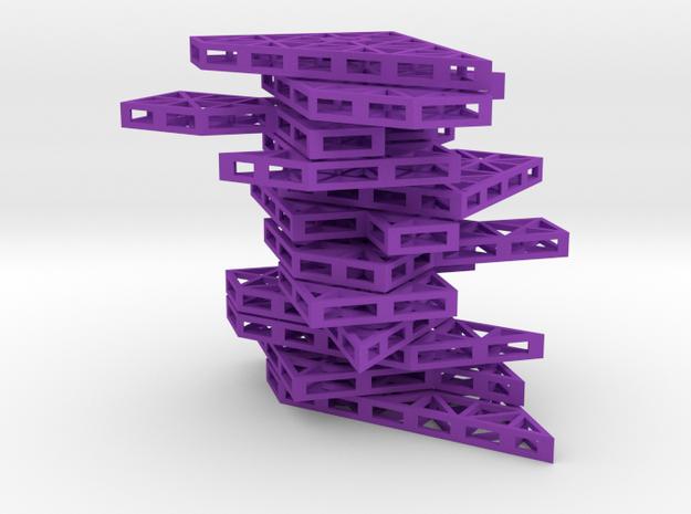 Ptarmigan Puzzle (Set A) 3d printed