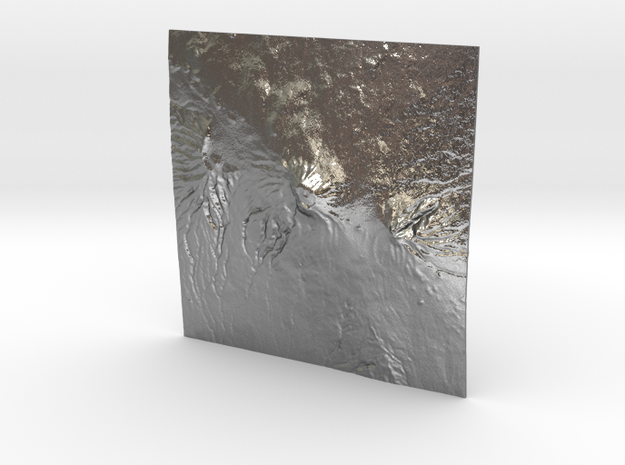 3''/7.5cm Mt. Kilimanjaro, Tanzania 3d printed