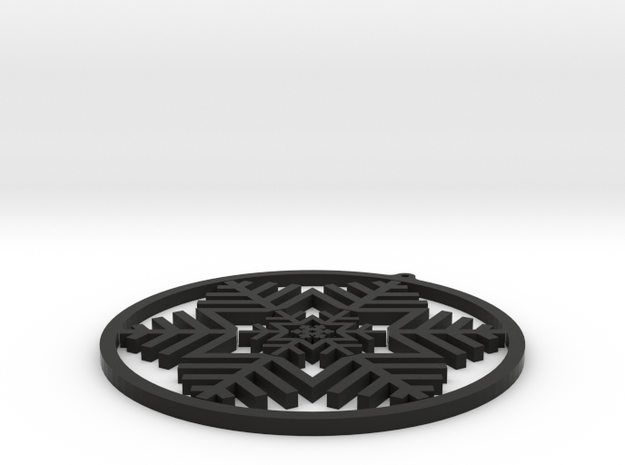 Gimbal Snowflake 3d printed
