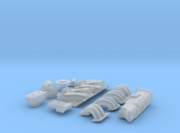 1 18 SBC TPI Intake System 3d printed
