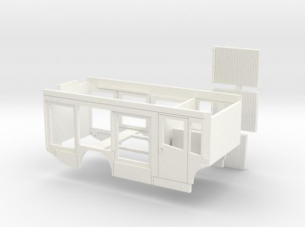 HLF für Mercedes Econic Fahrgestell in White Processed Versatile Plastic