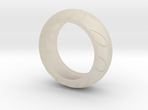 Street Bike Tread Ring Size 10 3d printed