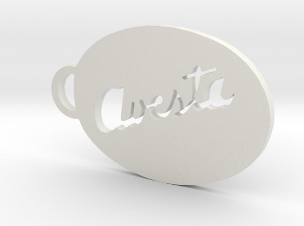 "Key-ring ""Avesta"" 3d printed"