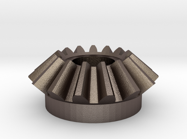 Bevel Involute Gear M1.5 T15 in Stainless Steel