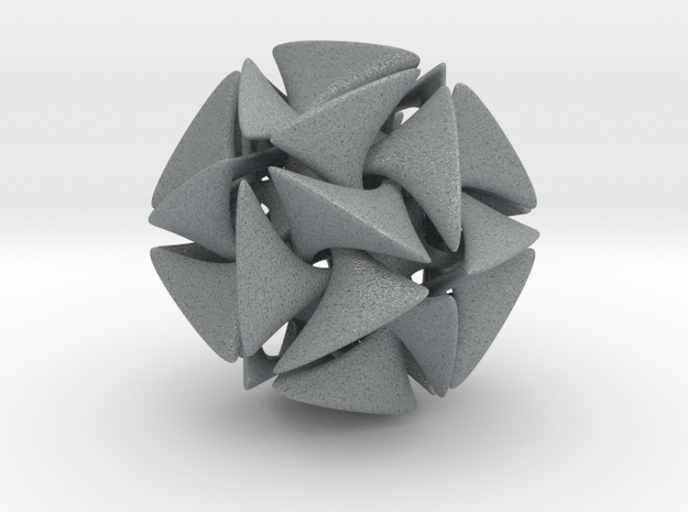 Dodecahedron II, large 3d printed