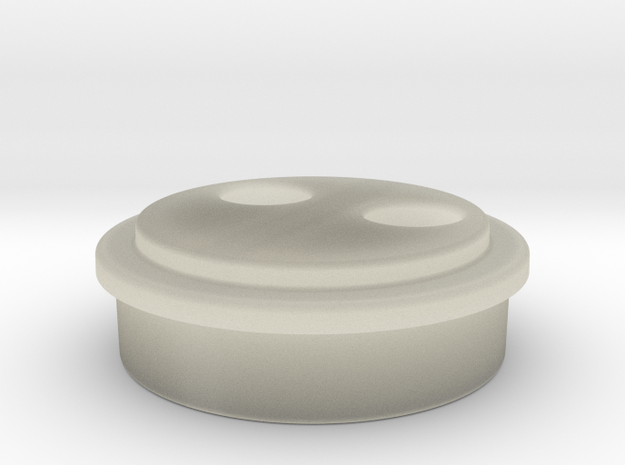 Power Core LED Cap in Transparent Acrylic