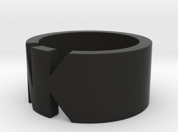 NK- Ring Size 5.5 3d printed