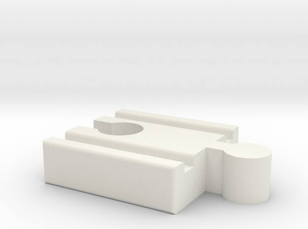 Lillabo M-Brio F Connector 40mm With Marking 3d printed