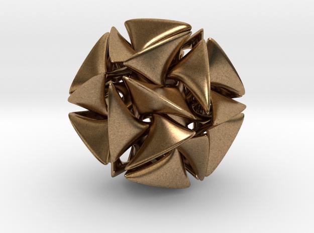 Dodecahedron II, medium 3d printed