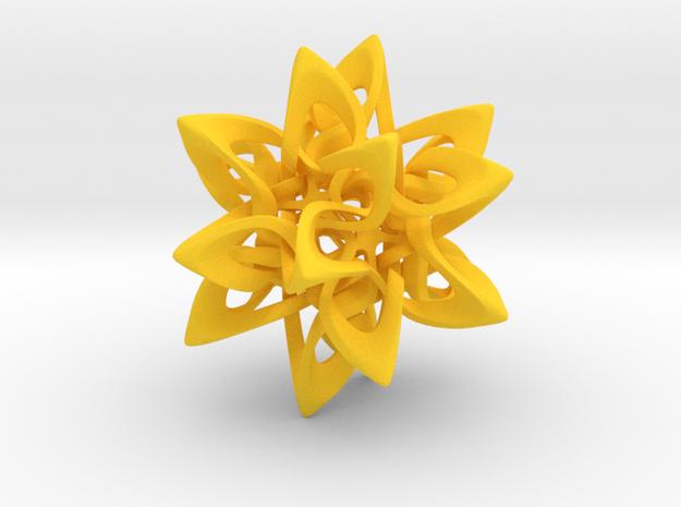 Dodecahedron X, medium 3d printed