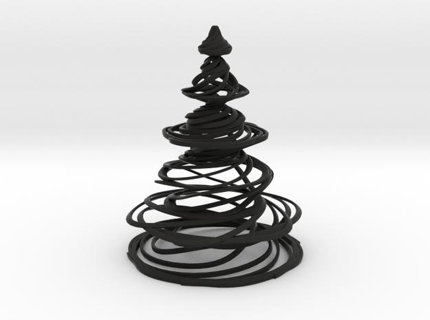 Swirly Christmas Tree 3d printed