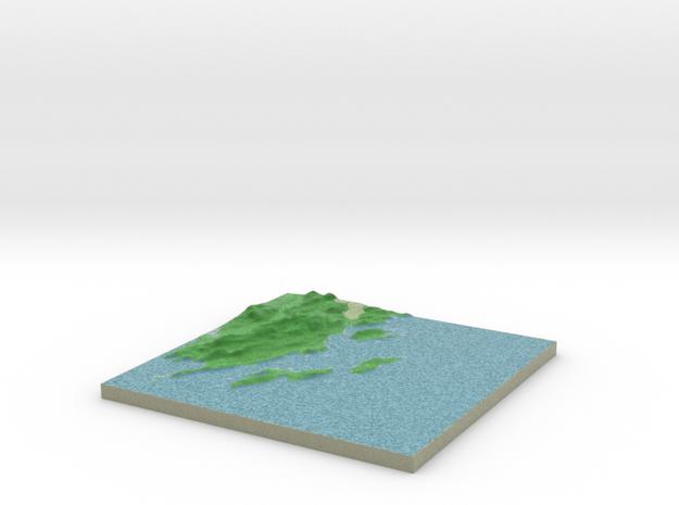 Terrafab generated model Wed Nov 06 2013 01:38:52 3d printed