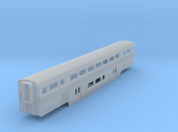 California Car Baggage Coach - Z Scale 3d printed