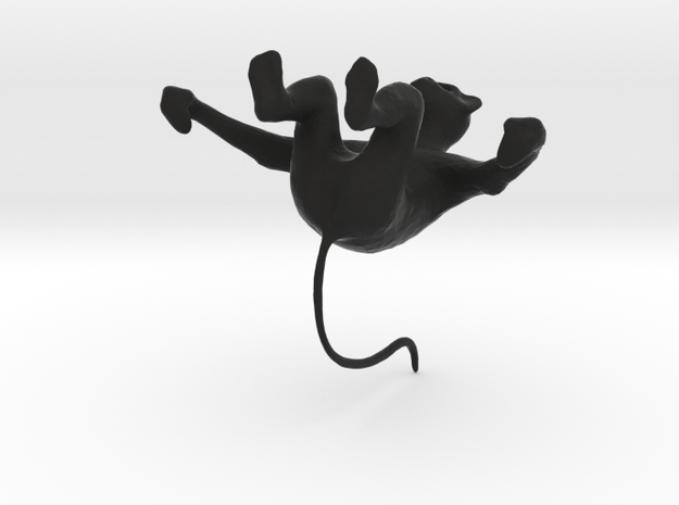 monkey with tail 3d printed