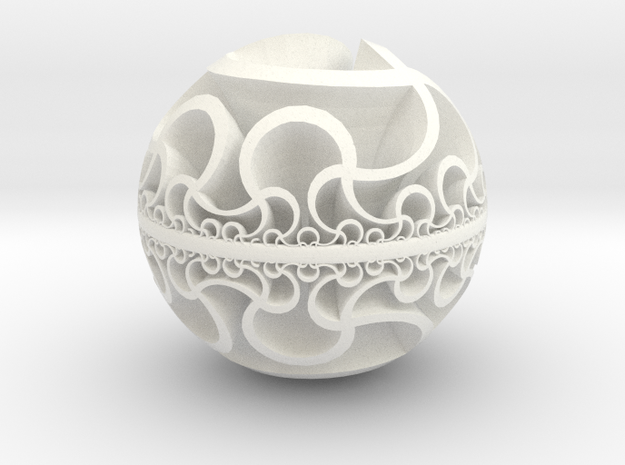 Hyperbolic IV, medium 3d printed