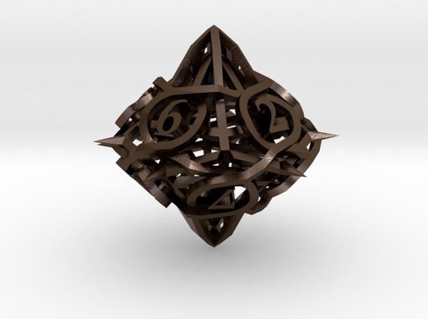 Thorn Die10 Ornament 3d printed