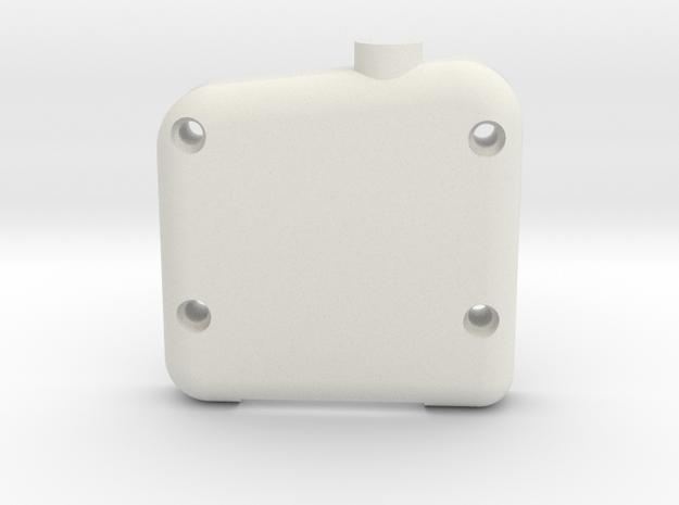Servo Case in White Natural Versatile Plastic