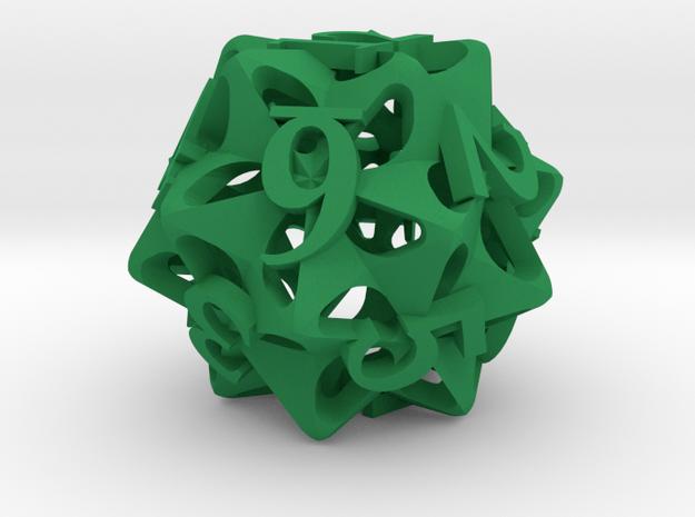 Pinwheel Die12 Ornament 3d printed