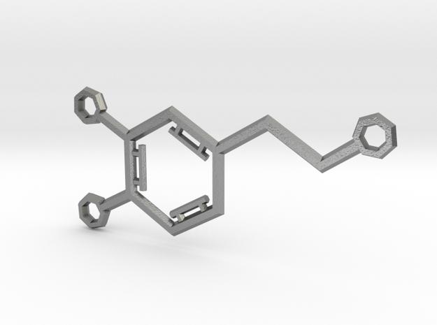 Small Dopamine Molecule 3d printed