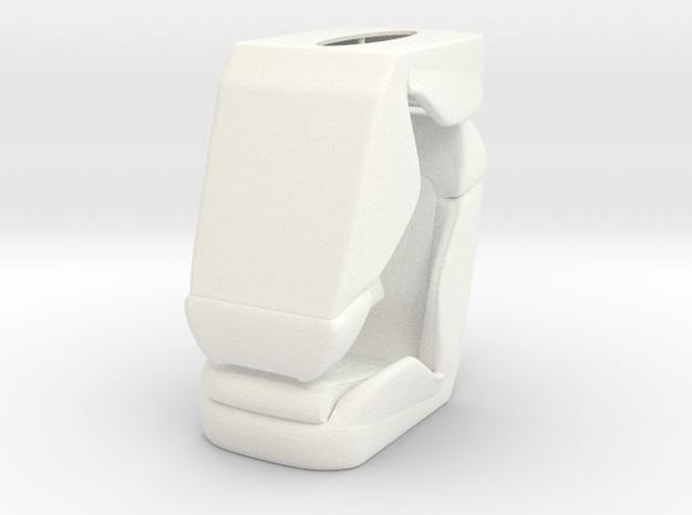 1 8 Luxury Bucket Seat Pair 3d printed