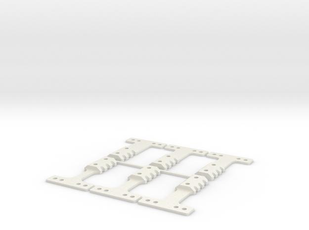 HM-RM 40 THK BLK in White Natural Versatile Plastic