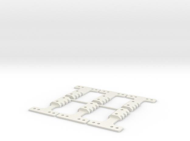 LM-MM 40 THK BLK in White Natural Versatile Plastic