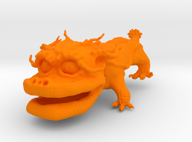 Dragon Dog v01 6cm 3d printed