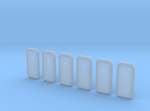 With port hole - 3ea LH and 3ea RH in Smooth Fine Detail Plastic