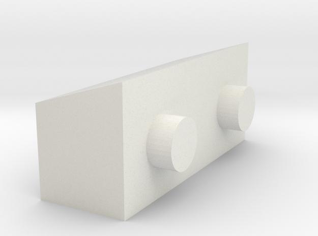 03A-J mission - Quad 2 Parts in White Natural Versatile Plastic