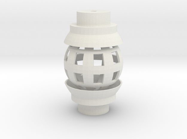 Ball Joint for 1/2 Inch PVC in White Strong & Flexible
