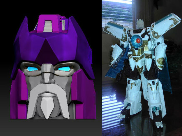 Alpha Trion homage Lord Valen for TF Voyager Vecto