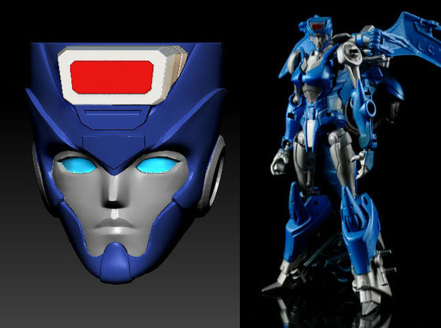CHROMIA homage Tempest Head for RID RC