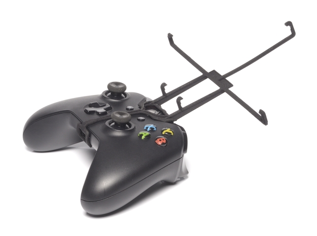 Xbox One controller & Icemobile G2 3d printed Without phone - A Nexus 7 and a black Xbox One controller
