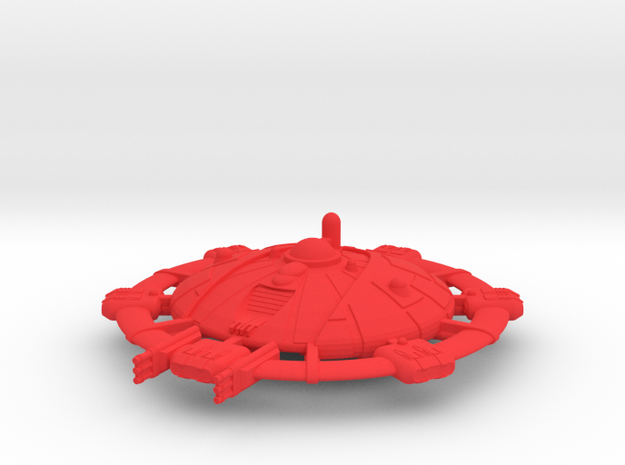 Martian Tharsis class Command Carrier 3d printed