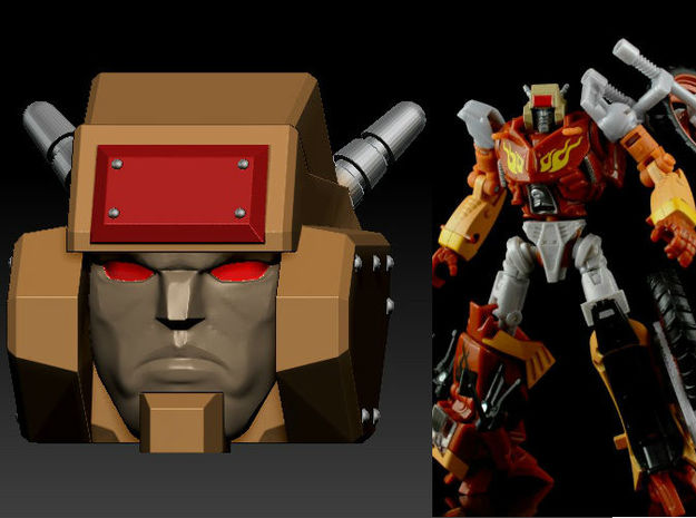 Metal Head's Head for TF Junk Wreck gar Junkion ho
