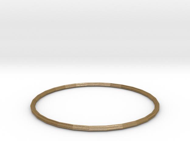 Bracelet 2 in Polished Gold Steel