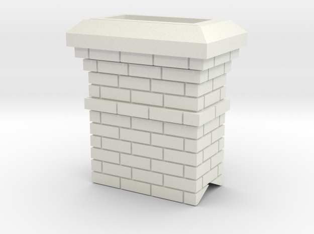 Chimney in White Strong & Flexible