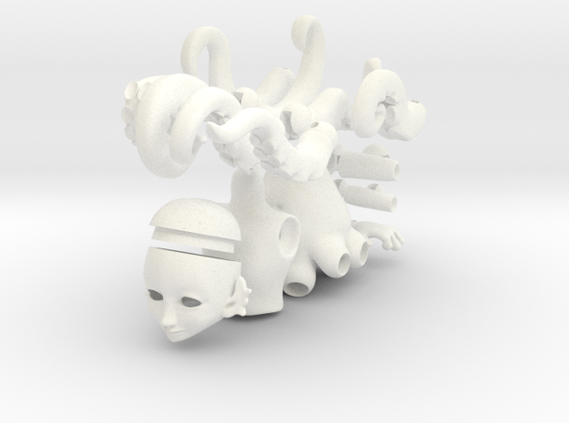 Octoling ball jointed doll 3d printed