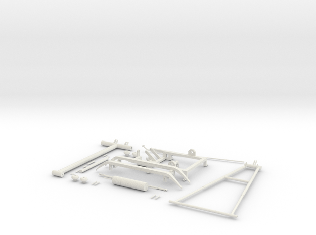 Pantograph Tenth Scale in White Natural Versatile Plastic