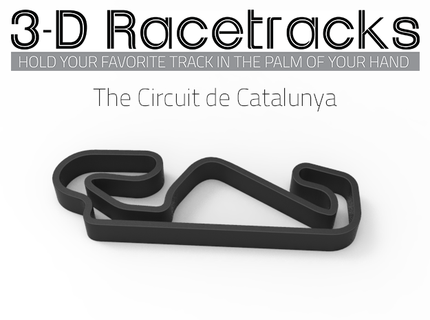 The Circuit de Catalunya in Full Color Sandstone