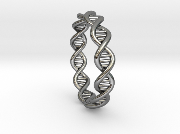 The Ring Of Life DNA Molecule Ring 3d printed