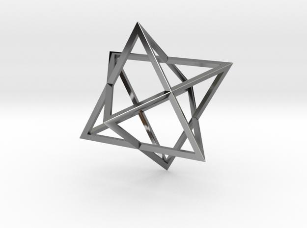 Merkaba Wire - 4cm 3d printed