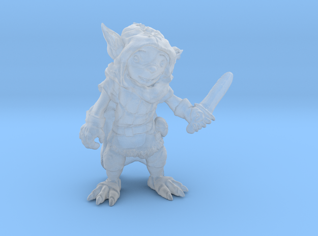 Goblin Thief 28mm Gaming Figure in Frosted Ultra Detail