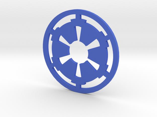 MK3 Volkswagen Golf Galactic Empire Rear Emblem in Blue Processed Versatile Plastic