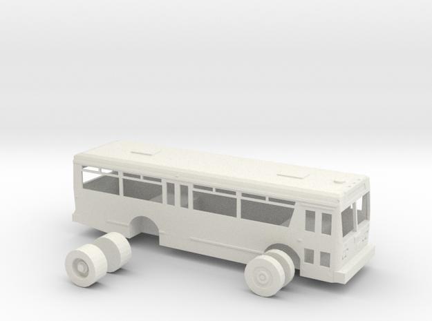 HO scale TMC citycruiser T-30 (Orion I) in White Natural Versatile Plastic